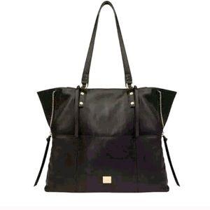 KOOBA Black Leather Everette Tote